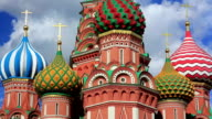Saint Basil's Cathedral, Moscow, Russia video