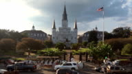Saint Louis Cathedral in New Orleans video