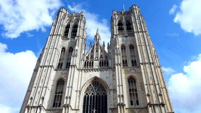 Saint Michael Church in Brussels video