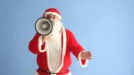 Saint Nicholas Shouting Via Megaphone video