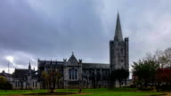 Saint Patrick's Cathedral In Dublin Time-Lapse video