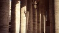 Saint Peter Colonnade in Vatican, Rome video