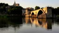 Saint-benezet in southeastern France video