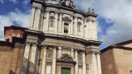 Saints Luca and Martina church by the Roman Forum video