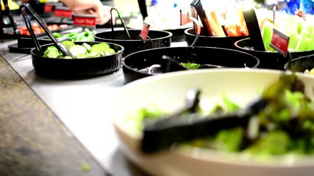 Salad bar video