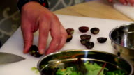 salad with grapes video
