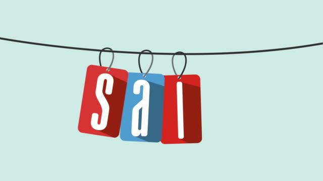 Sale icon design, Video Animation video