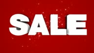 Sale logo animation HD video