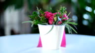 Sale of wondrous, artfully executed bouquets video