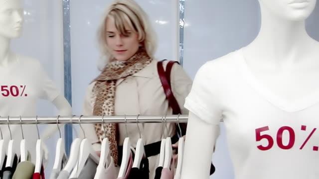 Sales Shopping Woman video