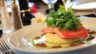 Salmon Dinner video