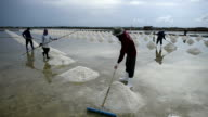 Salt farming video