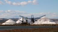 Salt mine industry, Salt production video