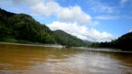 Salween river borders of Thailand and Myanmar video