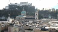 Salzburg cityscape video