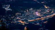 Salzburg night view video