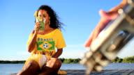 Samba mulata and caipirinha video