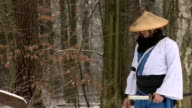 samurai walk video