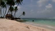 San Blas Islands Panama Sea Ocean Beach Paradise Palm Trees video