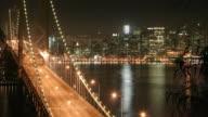 San Francisco Bay Bridge Time Lapse video