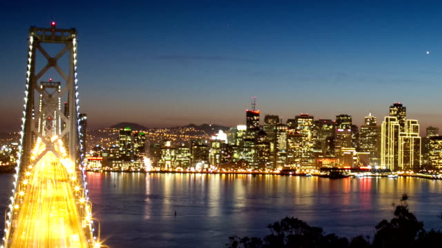 San Francisco Bay Bridge video
