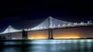 San Francisco city concepts: bay bridge video