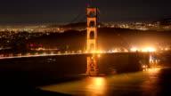 San Francisco city concepts: Golden gate bridge video