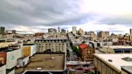 San Francisco Cityscape Time Lapse Effect Zoom video