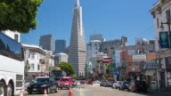 San Francisco - Columbus Avenue View video