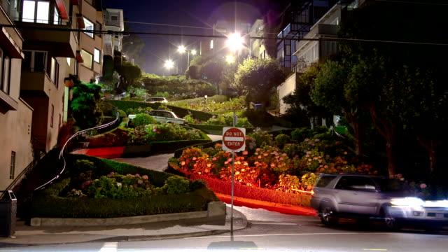 San Francisco curvy Lombard street video