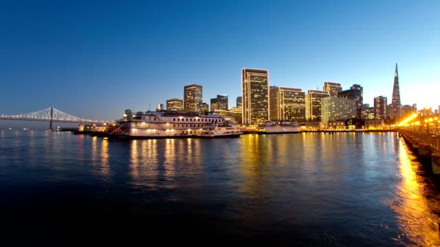 San Francisco Downtown Sunset video