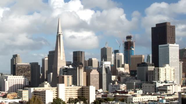 San Francisco Downtown View - Loop-ready. video