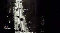 San Francisco hilly street backlit video