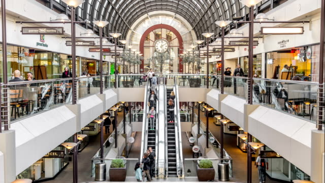 San Francisco Mall Time Lapse video