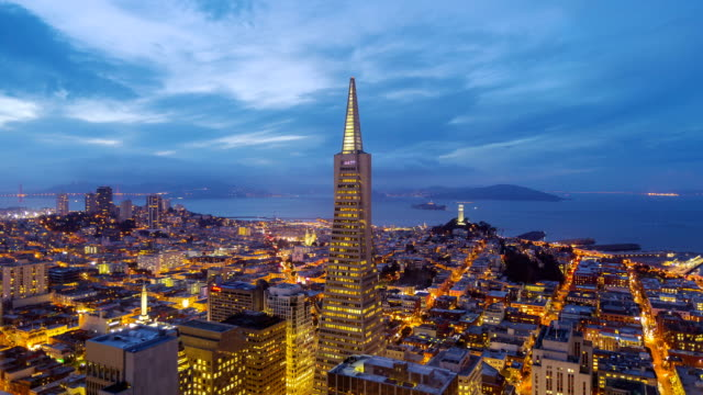 San Francisco Skyline Timelapse video