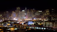 HD San Francisco Skyline (zooming in) video