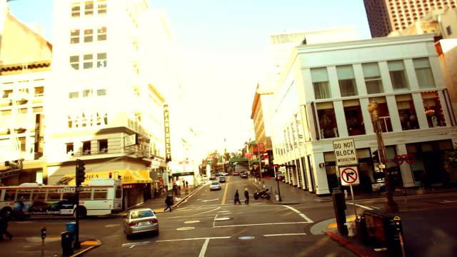 STREET LAPSE - San Francisco Street Center video