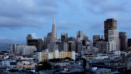 San Francisco Sunset - Time Lapse video