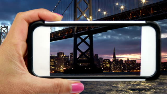 San Francisco through a Mobile Phone video