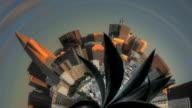 San Francisco - Tiny Planet video