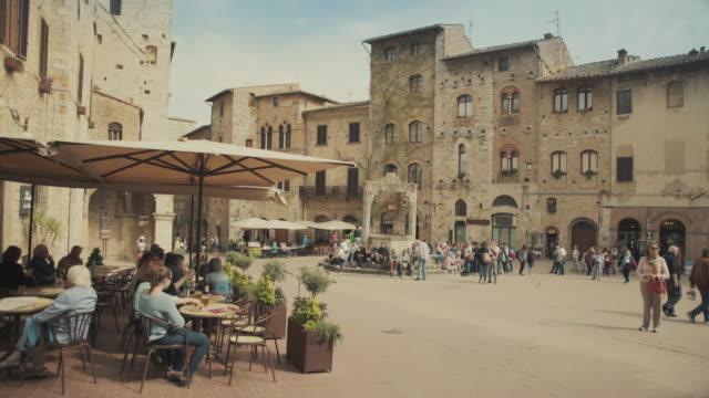 San Gimignano, Tuscany, in Italy video