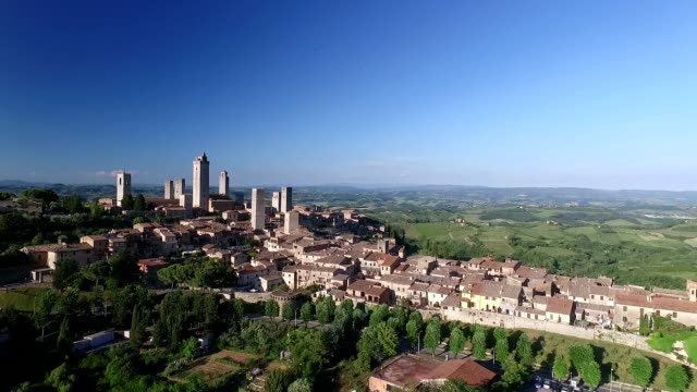 San Gimignano, Tuscany, Italy video