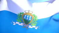 San Marino Flag video