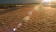 Sand dune dry desert outback Australia landscape timelapse video