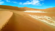 HELI Sand Dunes Surrounding The Dead Vlei video