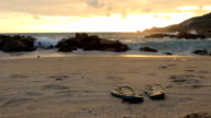 Sandals at the sunset beach video