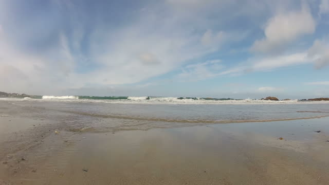 Sandy Beach Time Lapse video