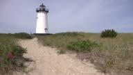 Sandy Path Toward Lighthouse video