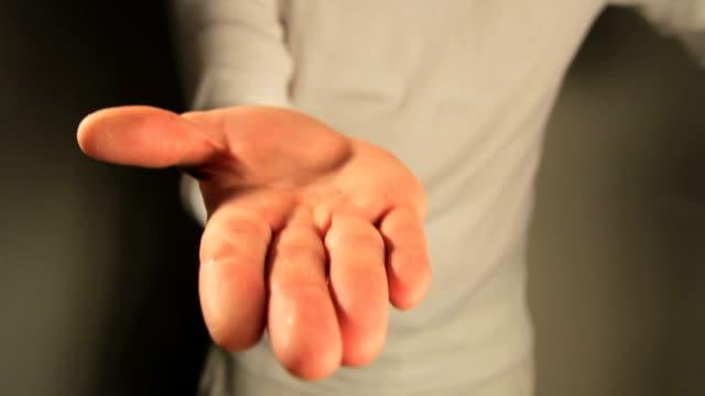 Sanitizing hands video