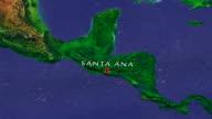 Santa Ana 4K Zoom In video